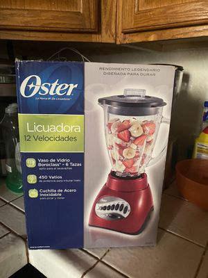 New RED Oster 12 Speed Blender $55 for Sale in Stockton, CA