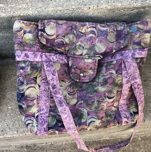Purple Fabric Purse for Sale in Parkville, MD