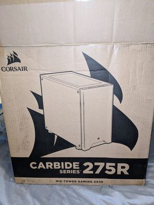 Corsair Carbide Series 275R Mid-tower gaming case Tempered glass for Sale in Fort Meade, MD