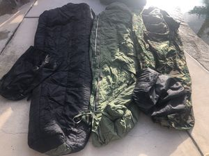 Sleeping bags military bag military dry bag for Sale in San Diego, CA