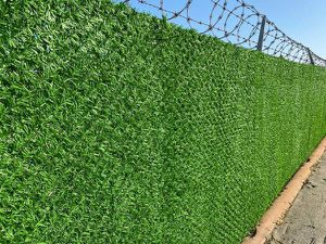 Artificial Grass Chainlink Fence Warehouse Fence Pool Fence Privacy Fence for Sale in Fountain Valley, CA