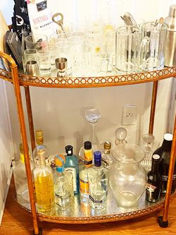 Vintage Inspired Bar Cart for Sale in Los Angeles,  CA