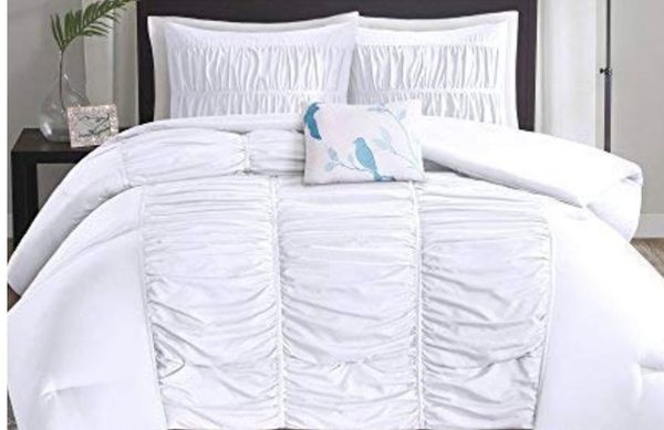 White Twin Bed Set (furniture)