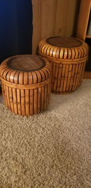 Wood Storage containers for Sale in Greenville, SC