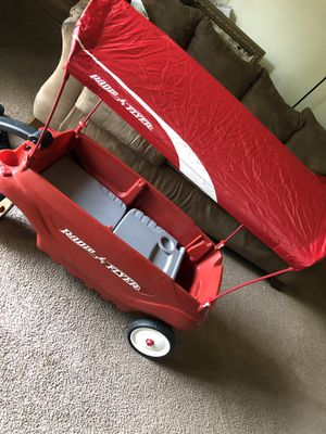 Wagon With Canopy Like New for Sale in Raleigh, NC