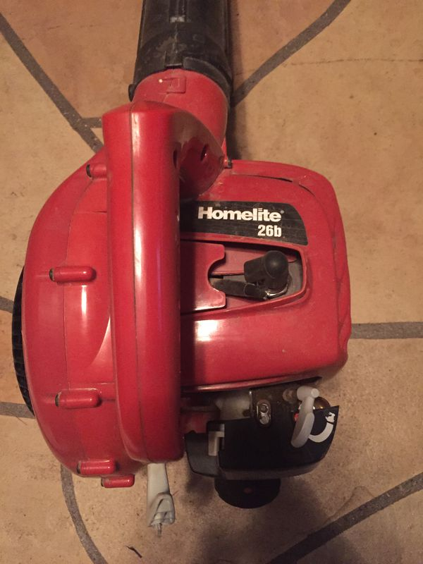 Homelite 26b UT095250 175 Mph  26 CC Leaf Blower Gas Powered Needs Minor  Repair-No Parts Needed--PLZ READ for Sale in Phoenix, AZ - OfferUp