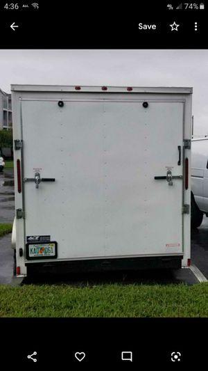 Enclosed Trailer 7×18L 84inH for Sale in Davenport, FL