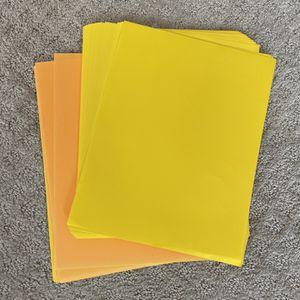 Yellow And Orange Printer Paper for Sale in Woodbridge, VA