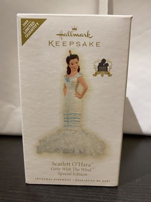 Scarlett O'Hara Gone with the wind Ornament for Sale in Millbrae, CA