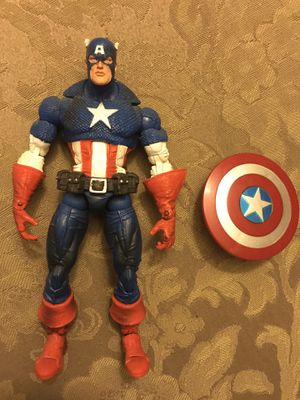 Marvel Legends toybiz Captain America face off for Sale in Wichita, KS
