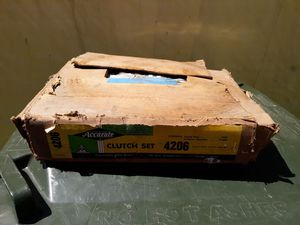 57 1957 Chevy Bel Air clutch plate V6 original box parts for Sale in Union Beach, NJ
