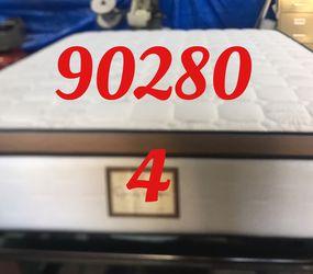 "12"" Thick foam encase pillow top mattress. Free delivery. Twin Mattress only-$199 Mattress & box spring-$235 Full Mattress only-$265 Mattress and for Sale in Lynwood,  CA"