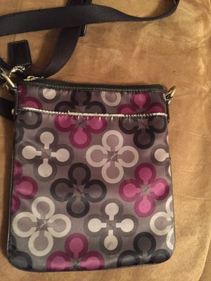 Coach black cloth crossbody for Sale in Wichita, KS