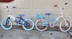 Disney Frozen children's bikes by Hussy for Sale in St. Louis, MO