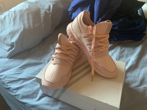 Pink adidas worn once for Sale in Queens, NY