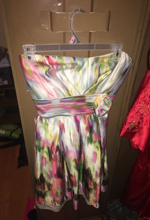 Size 13 m strap less dress for Sale in Baltimore, MD