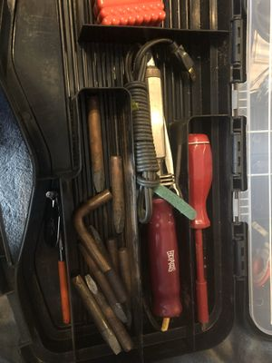 Vintage hexacon soldering iron, Wen 100 soldering gun and more for Sale in Chicago, IL