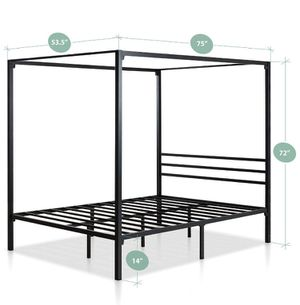 Canopy Bed Frame for Sale in Riverside, CA