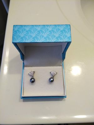 Pearl & Diamond Earrings for Sale in Baltimore, MD