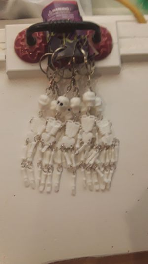8 skeleton key rings for Sale in Slidell, LA