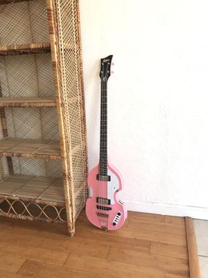 Rare Pink Hofner Bass for Sale in Chula Vista, CA