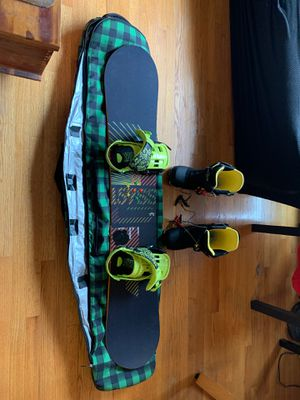 Rome snowboard, Forum bindings, Burton boots for Sale in Woodbridge, VA