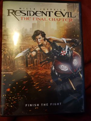 Resident evil The final chapter for Sale in Port Byron, IL