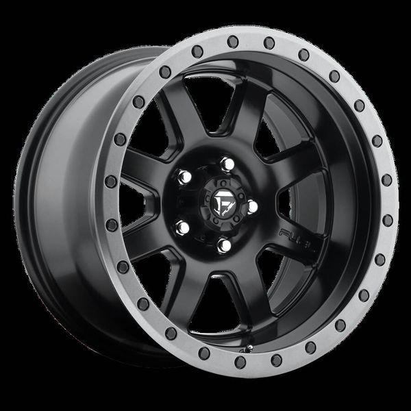 Fuel 17x9 wheels, set of 4. 5on5 bolt pattern.