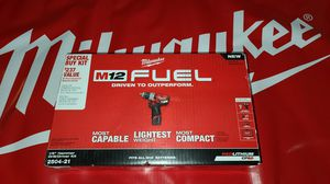Milwaukee M12 FUEL Hammer Drill Kit (NEW) for Sale in San Diego, CA
