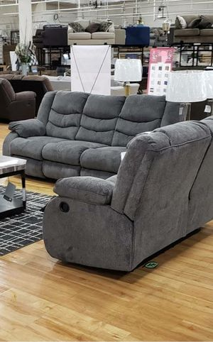 ❄❄ BRAND NEW ❄SPECIAL] Tulen Gray Reclining Living Room Set for Sale in Jessup, MD