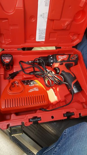 Milwaukee hammer drill for Sale in Rosenberg, TX