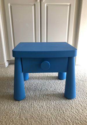 small table desk with storage room for Sale in San Diego, CA