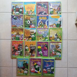 Set of 19 VEGGIE TALES Dvds. All DVDs in very good to great condition. for Sale in Renton, WA