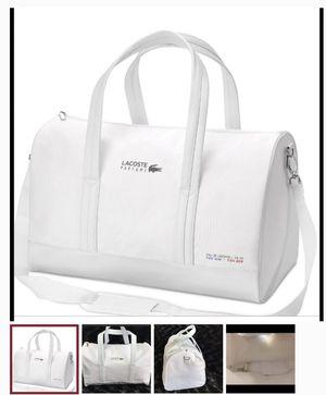 Lacoste Weekender Gym Sports Duffle bag for Sale in Las Vegas, NV