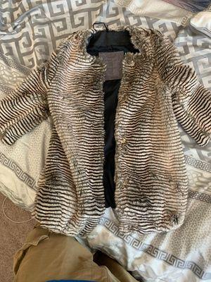 Mona Lisa 8Y faux fur jacket for Sale in Burien, WA