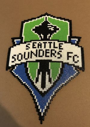 Handmade Sounders FC Perler for Sale in Tacoma, WA