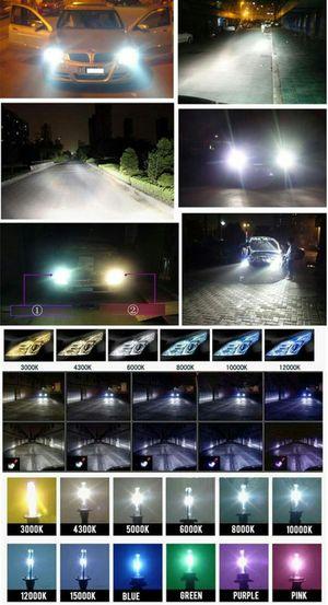 Hid replacement headlight bulbs & kits & led headlight bulbs - any ride bmw Mercedes Toyota Tacoma tundra nissan armada titan Altima chrylser for Sale in Phoenix, AZ