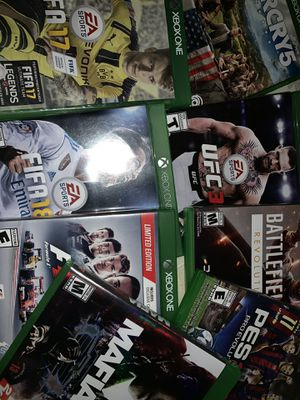 Xbox one games for Sale in Fort Worth, TX