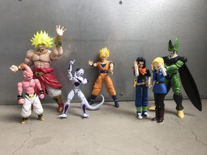 Bandai / DragonBall Z model kit action figures for Sale in San Diego, CA