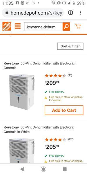Dehumidifier for Sale in Orlando, FL