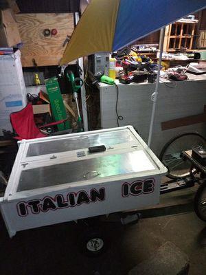1000watt 3 wheel ebike and itaian ice /waterice cart for Sale in Pittsburgh, PA