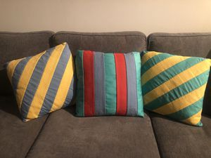 Couch throw pillows for Sale in Washington, DC