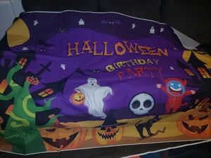 New 7×5 halloween party back drop for Sale in Covina, CA