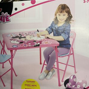 Minnie Mouse Table And Chair Set for Sale in Mableton, GA