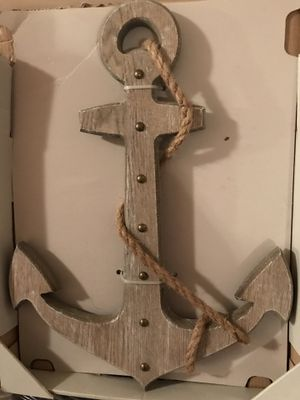 Nice solid Wood Anchor Decor Hanging for Sale in Gainesville, VA