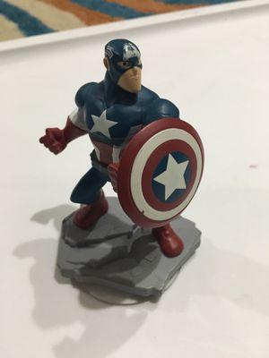 Disney Infinity Marvel Captain America Figurine for Sale in Minneapolis, MN