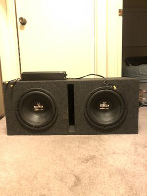 Subs with amp for Sale in San Diego, CA