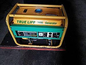 True life 2600 Generator for Sale in Detroit, MI