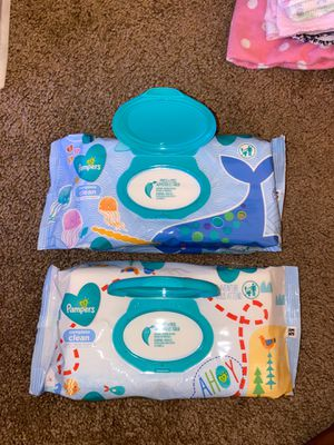 Baby wipes (2 packs of 144wipes) for Sale in El Cajon, CA