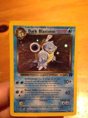 Pokemon Cards Dark Blastoise for Sale in Santa Ana, CA